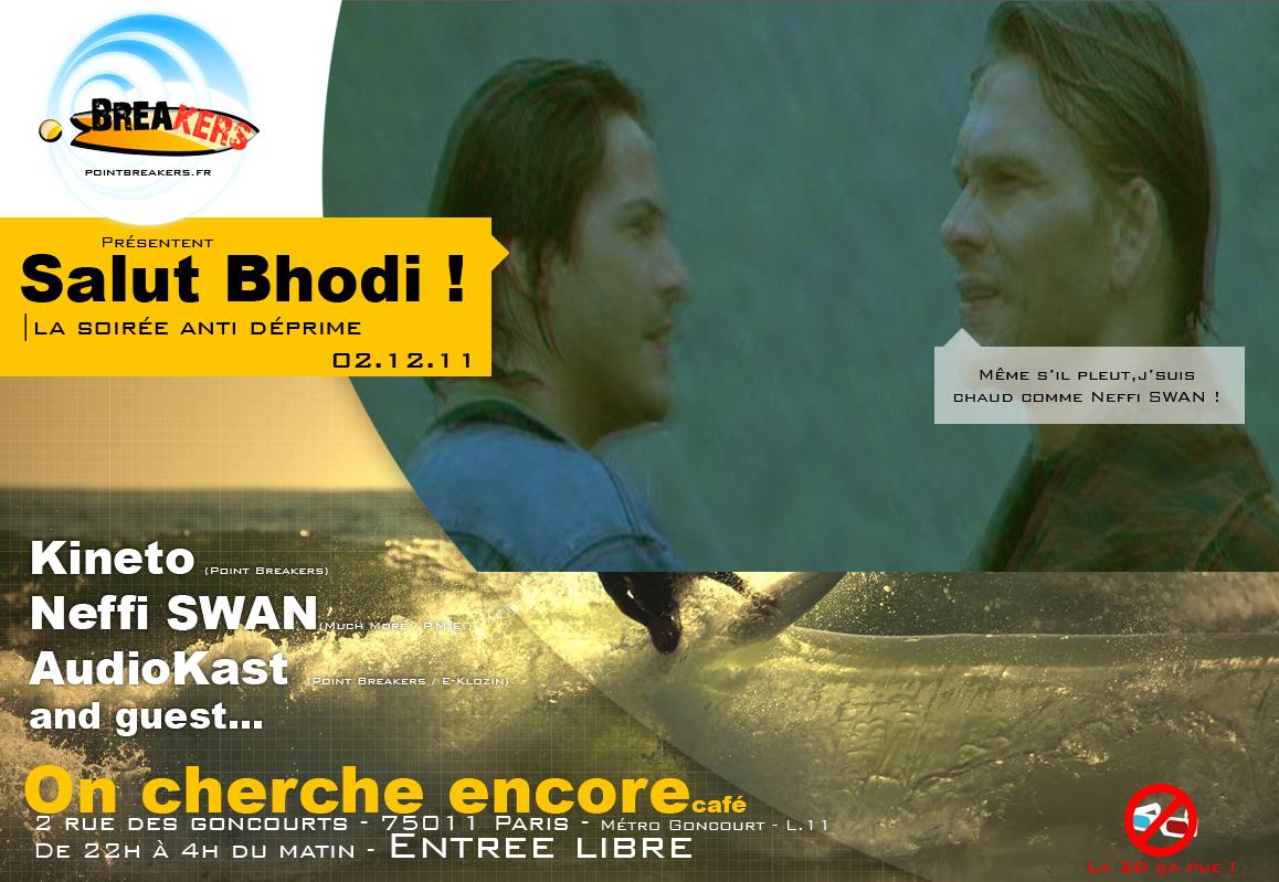 Visuelle de la soirée Salut Bhodi
