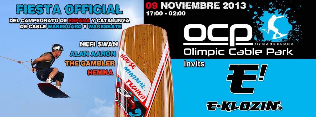 Mix pour le Championnat d'Espagne de Wakeboard et de Wake Skate à l' OCP /// Olímpic Cable Park Barcelona